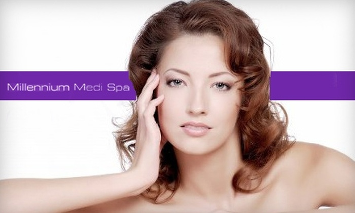 Millennium Medi Spa - West Point Pepperell Square: $80 for Purifying Facial with Vibradermabrasion and Eyebrow Wax at Millennium Medi Spa ($230 Value)