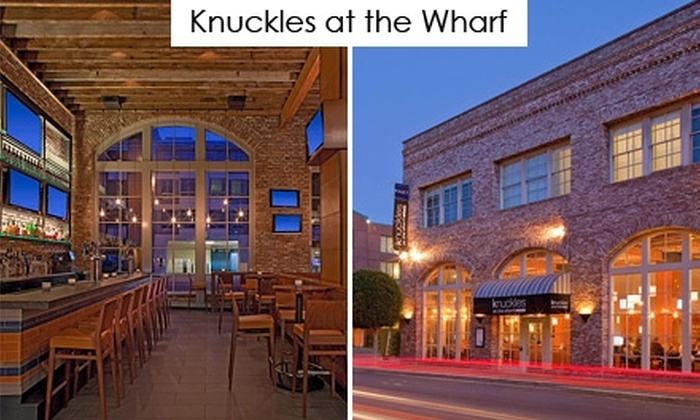 Knuckles at the Wharf - Fisherman's Wharf: $20 for $40 Worth of Maritime Seafood, Barbecue, Sandwiches, and More at Knuckles at the Wharf