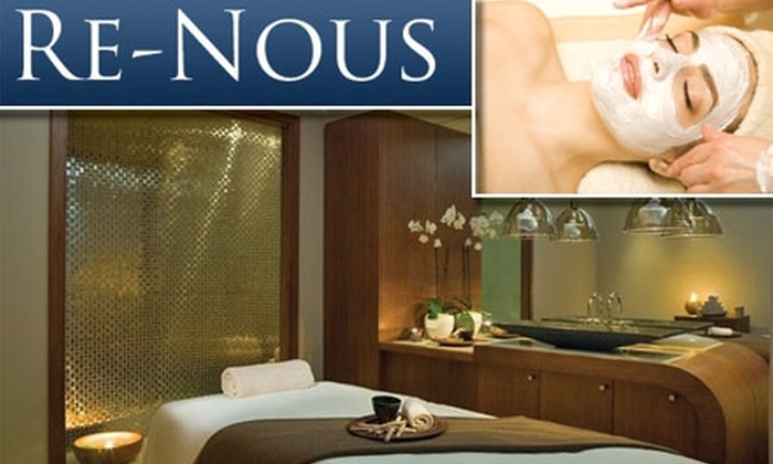 ReNous Day Spa - Del Mar: $40 for a One-Hour Healing Facial of Your Choice at Re-Nous Day Spa (Up to $120 Value)
