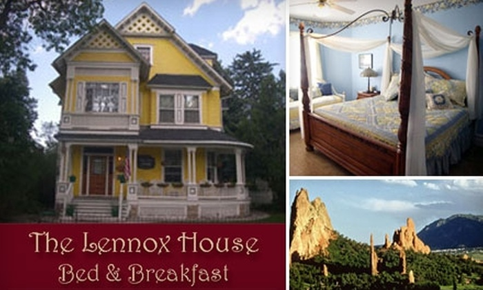 Lennox House Bed and Breakfast - East Colorado Springs: $69 for One-Night Stay with Breakfast for Two at Lennox House Bed and Breakfast (Up to $175 Value)