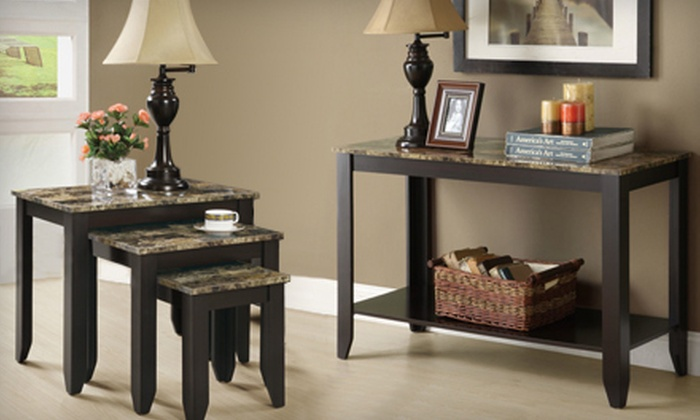 Up To 51% Off Console Or Nesting Table