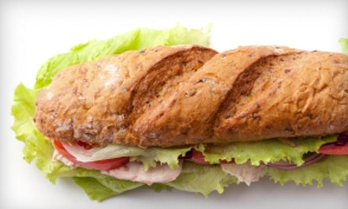 North Island Sandwiche Shoppe - Batavia: $6 for $12 Worth of Sandwiches, Soups, and Salads at North Island Sandwich Shoppe in Batavia