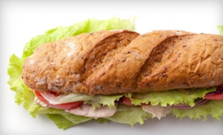 $12 Groupon to North Island Sandwich Shoppe - North Island Sandwiche Shoppe in Batavia