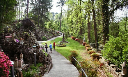 Ave Maria Grotto Visit for Two or Four Adults or Two Adults and Two Kids (Up to 48% Off)