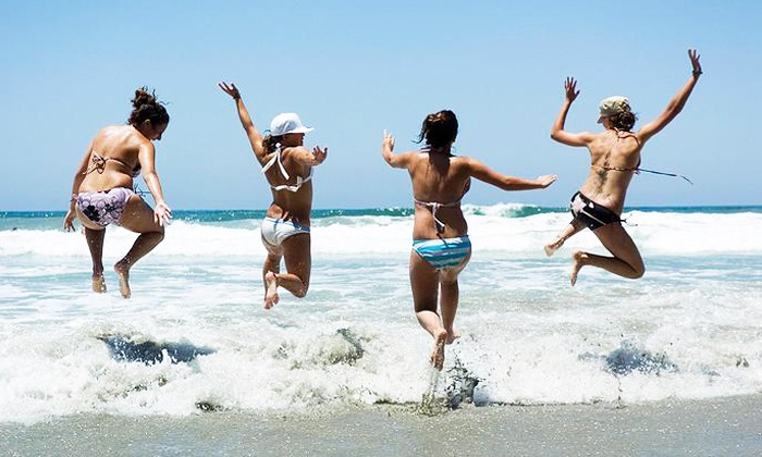 Surf Sessions - Del Mar: Five-Day Overnight Summer Surf Camp from Surf Sessions (Up to 21% Off)