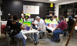 Palette's Paint and Wine Bar: $20 for a BYOB Painting Class for One at Palette's ($35 Value)