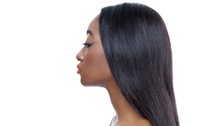 Shoclate Hair Design: Thermal Texturizing, Press, and Flat Iron Packages at Shoclate Hair Design (57% Off) Two Options Available.