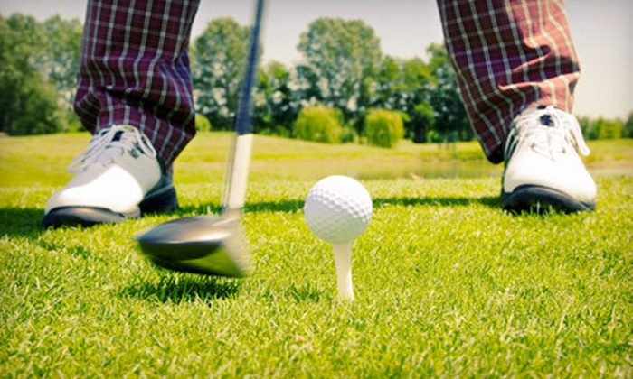 Thatcher Golf Course - Speedway: 9- or 18-Hole Round of Golf with Cart Rental for Two or Four at Thatcher Golf Course (Up to 56% Off)