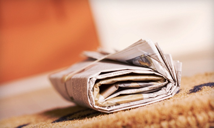 """""""The Telegraph"""" - Macon: 26- or 52-Week Sunday Subscription to """"The Telegraph"""" (Up to 59% Off)"""