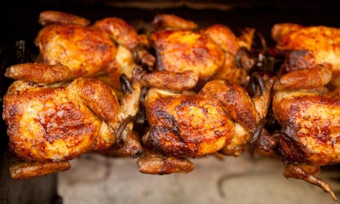 Wira Chicken - Center: $14 for Three Groupons, Each Good for Peruvian Rotisserie Chicken and Sides at Wira Chicken ($24 Value)