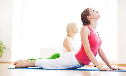 Eight Classes, One or Six Months of Unlimited Classes, or Two-Hour YogArtz Class at MY BodYoga (Up to 59% Off)