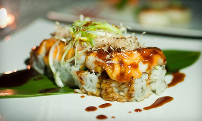 Zame Fusion Sushi - Arlington: Sushi and Asian Fusion Fare at Zame Fusion Sushi in Riverside (Up to 55% Off). Two Options Available.