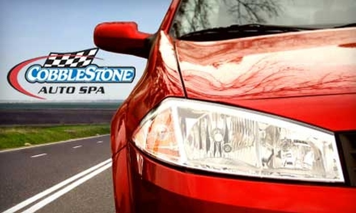 Cobblestone Auto Spa - Multiple Locations: $59 for a Complete Interior Detail or a One-Step Orbital Carnauba Polish at Cobblestone Auto Spa (Up to $135.99 Value)