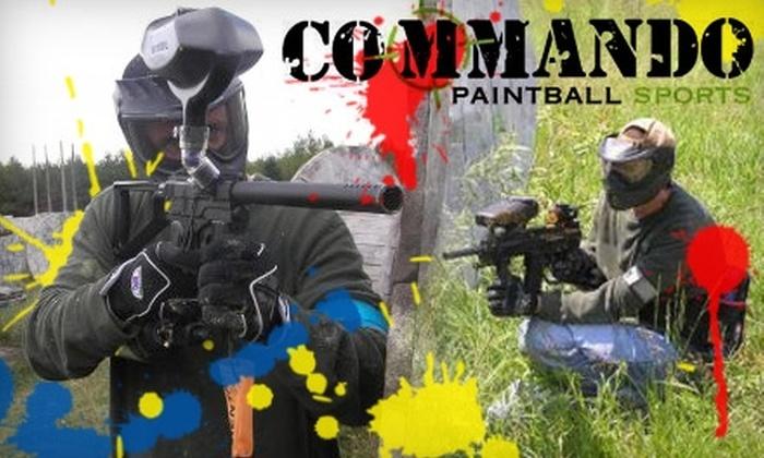 Commando Paintball Sports - Ashwaubenon: $10 for a 90 Minutes of Laser Tag at Commando Paintball Sports ($20 Value)