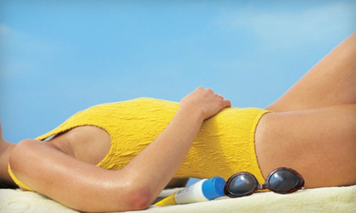 Alichia Ryan - Centennial: One or Three Custom Infinity Sun Spray-Tan Sessions from Alichia Ryan in Centennial (70% Off)