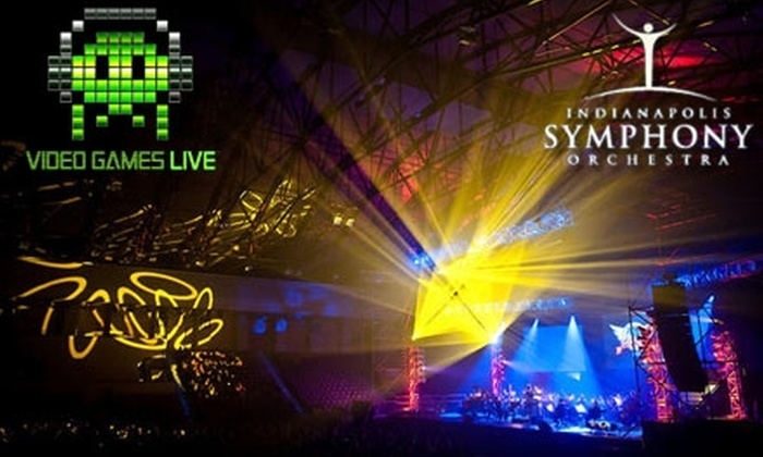 "Indianapolis Symphony Orchestra - Downtown Indianapolis: Half Off a Ticket to ""Video Games Live"" at Conseco Fieldhouse on August 7. Choose from Three Seating Options."