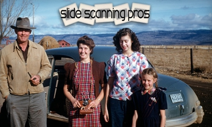 Slide Scanning Pros - Springfield: $7 for $20 Worth of Photo Scans and Digital Services at Slide Scanning Pros