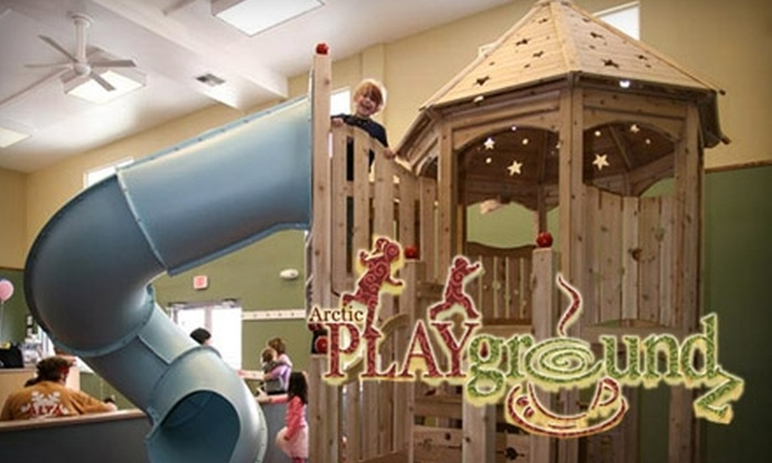 Arctic Playgroundz - Midtown: $25 for One-Month Family Pass ($50 Value) or $17 for One-Month Single-Child Pass ($35 Value) to Arctic Playgroundz