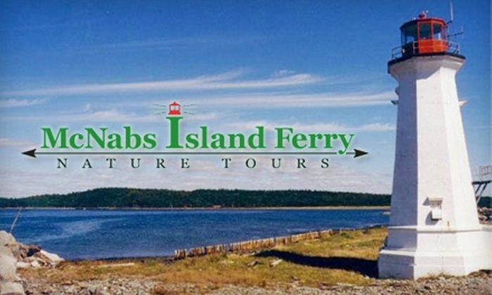 McNabs Island Ferry Nature Tours - Halifax: $10 for Two Round-Trip Tickets to McNabs Island from McNabs Island Ferry (Up to $24 Value)