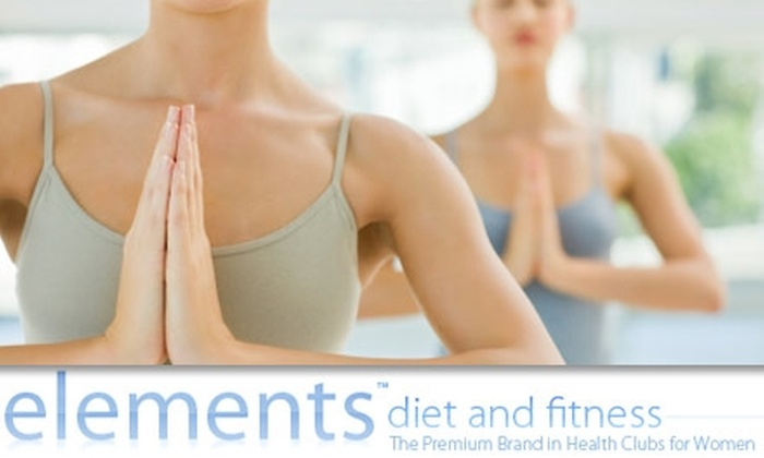 elements diet and fitness - Atlanta: $29 for Eight Premium Yoga, Pilates, Gravity, Dance, and More Group Fitness Classes at Elements Diet and Fitness ($99 Value)