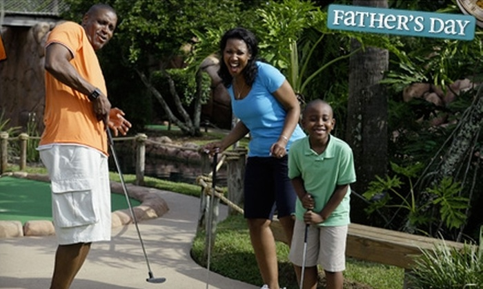 Congo River Golf - Pennlantic: Minitature-Golf Party Package at Congo River Golf. Three Options Available.
