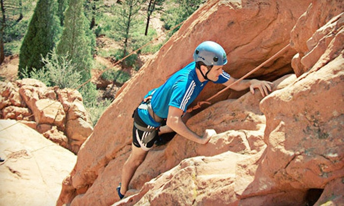 First Ascent Mountain School - Multiple Locations: Half-Day Guided Rock-Climbing Trip for Two or Four from First Ascent Mountain School in Colorado Springs (Up to 51% Off)