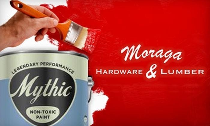 Moraga Hardware & Lumber - Moraga: $10 for $20 Worth of Hardware and Housewares at Moraga Hardware & Lumber