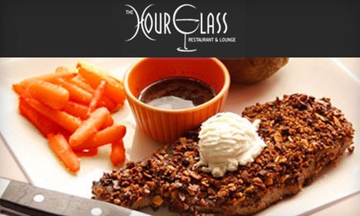 The Hourglass Restaurant & Lounge - Sudbury: $15 for $30 Worth of Classic Fare and Drinks at The Hourglass Restaurant & Lounge