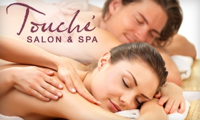 Touché Salon & Spa - West Central: $35 for a Relaxing Massage from Touché Salon & Spa ($70 Value)