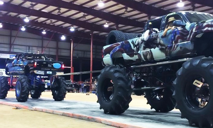 Truck Wars - Bergeron Rodeo Grounds: Truck Wars Show on Saturday, December 12, at 7 p.m.