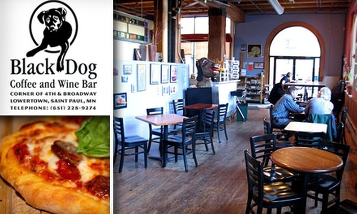 Black Dog Coffee & Wine Bar - Lowertown: $15 for $30 Worth of Coffee, Sandwiches, and Wine at Black Dog Coffee and Wine Bar