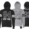 Fashion Numbered Slim-Fit Pullover Hoodies