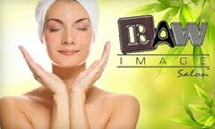 Raw Image Salon - Layton: $29 for European Facial with Hot-Stone Back Treatment or  Brazilian Wax at Raw Image Salon ($65 Value)