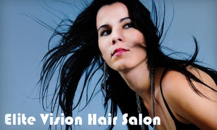Elite Vision Hair Salon - Cedar Creek: $129 for a Brazilian Blowout at Elite Visions Hair Salon
