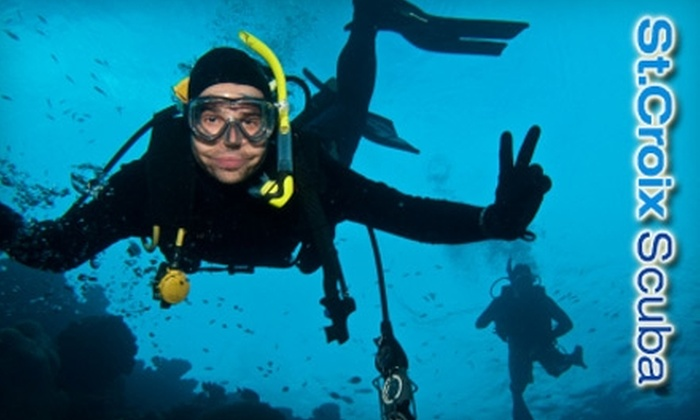 St. Croix Scuba & Snorkeling - Hudson: $25 for a Scuba Discovery Class for Two, Including Equipment, at St. Croix Scuba & Snorkeling in Hudson