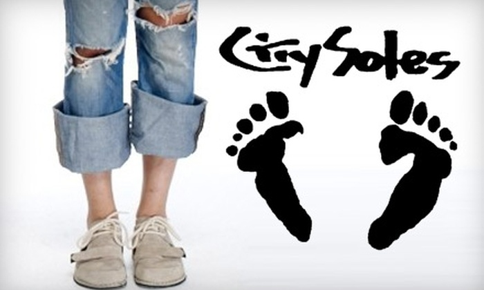 City Soles - Wicker Park: $35 for $75 Worth of Shoes at City Soles