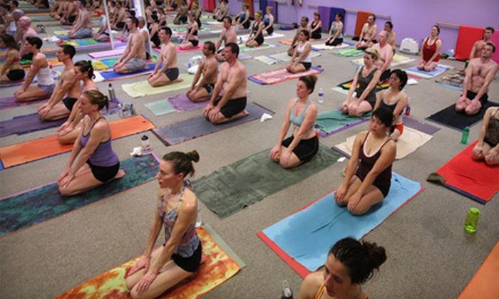 Bikram Yoga Granite Bay - Carolinda Ranch Estates: $29 for 10 Hot-Yoga Classes at Bikram Yoga Granite Bay (Up to $130 Value)
