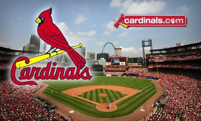 St. Louis Cardinals - Downtown St. Louis: $25 for an Outfield Loge Box Ticket to St. Louis Cardinals vs. Chicago Cubs ($50 Value). Three Dates Available.