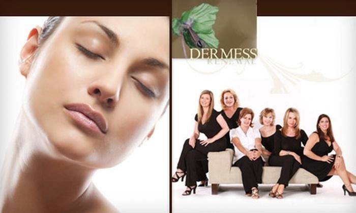 Dermess Renewal - Nashville-Davidson metropolitan government (balance): $99 for Two Microdermabrasion Treatments at Dermess Renewal ($250 Value)