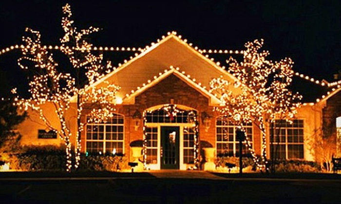 Christmas Brothers - El Segundo: Complete Christmas-Lights Installation for One- or Two-Story Roofline from Christmas Brothers (Half Off)