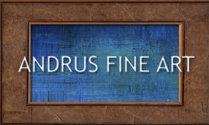 Andrus Fine Art Gallery - Woods of Shavano: $50 for $200 Toward Oil Paintings and Frames or $40 for $100 Toward Custom Framing at Andrus Fine Art Gallery