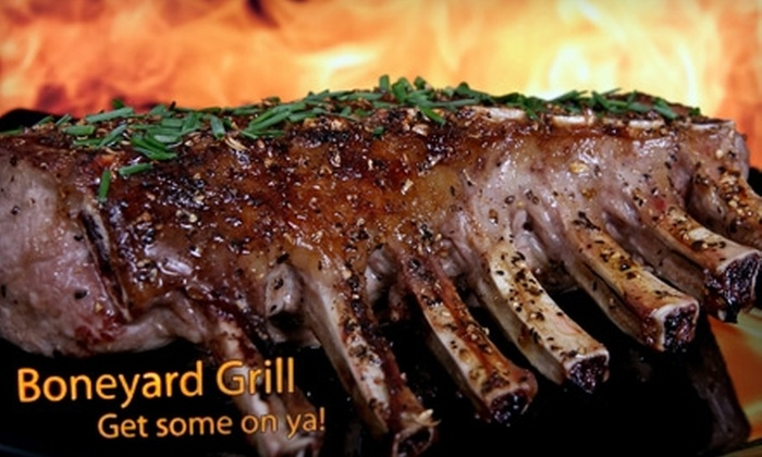 Boneyard Grill - Central Oklahoma City: $15 for $30 Worth of BBQ by the Pound and More at Boneyard Grill