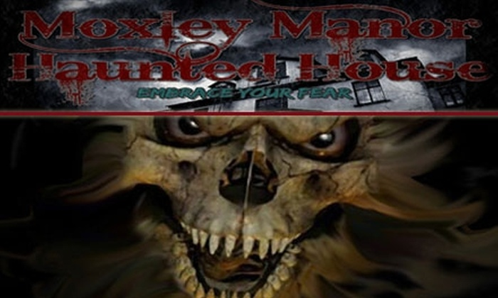 Moxley Manor Haunted House - Bedford: $15 for Two Tickets to Moxley Manor Haunted House
