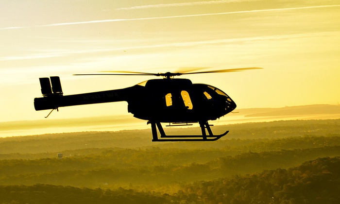 Wings Air Helicopters - White Plains: New York City Helicopter Tour for Two or Piloting Experience for One from Wings Air Helicopters (Up to 48% Off)