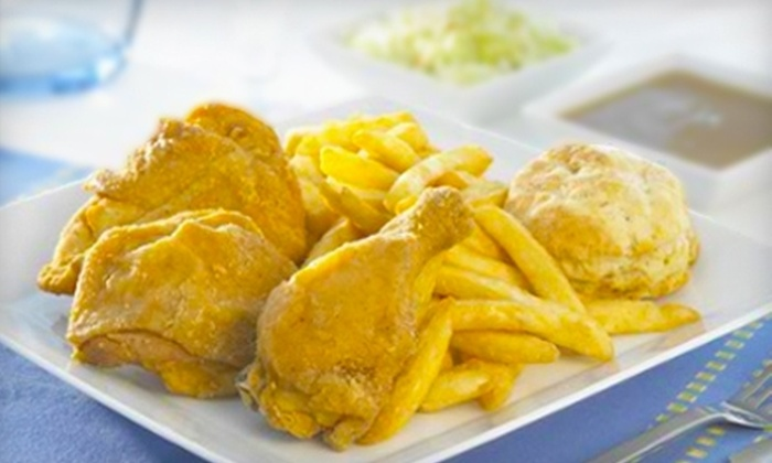 Chick-N-Joy - Multiple Locations: $4 for a Three-Piece Chicken Dinner and Small Soft Drink at Chick-N-Joy ($9.08 Value)