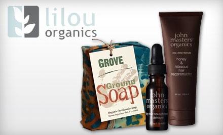 $30 Groupon to Lilou Organics - Lilou Organics in