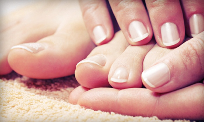 Manicure or Mani-Pedi - Day Lily Hair and Nail Salon   Groupon