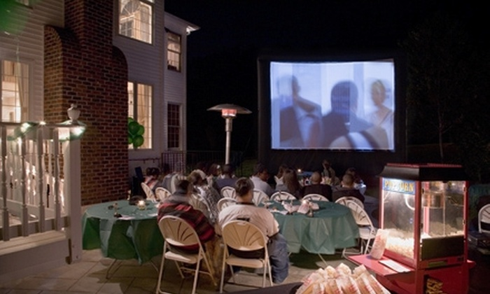 FunFlicks Outdoor Movies - Asheville: $149 for an Outdoor Movie Party Rental from FunFlicks Outdoor Movies ($299 Value)