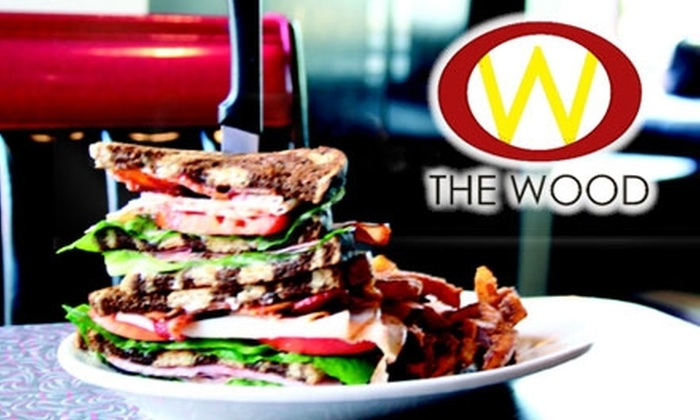 The Wood - Maplewood: $9 for $20 Worth of American Cuisine and Drinks at The Wood