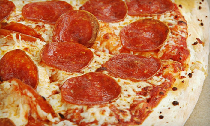 Park City Pizza Company - Snyderville: $16 for Two Medium Two-Topping Pizzas at Park City Pizza Company ($32 Value)